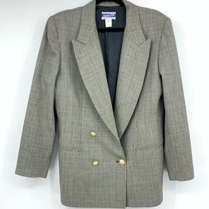 Pendleton women's blazer jacket double breasted 12